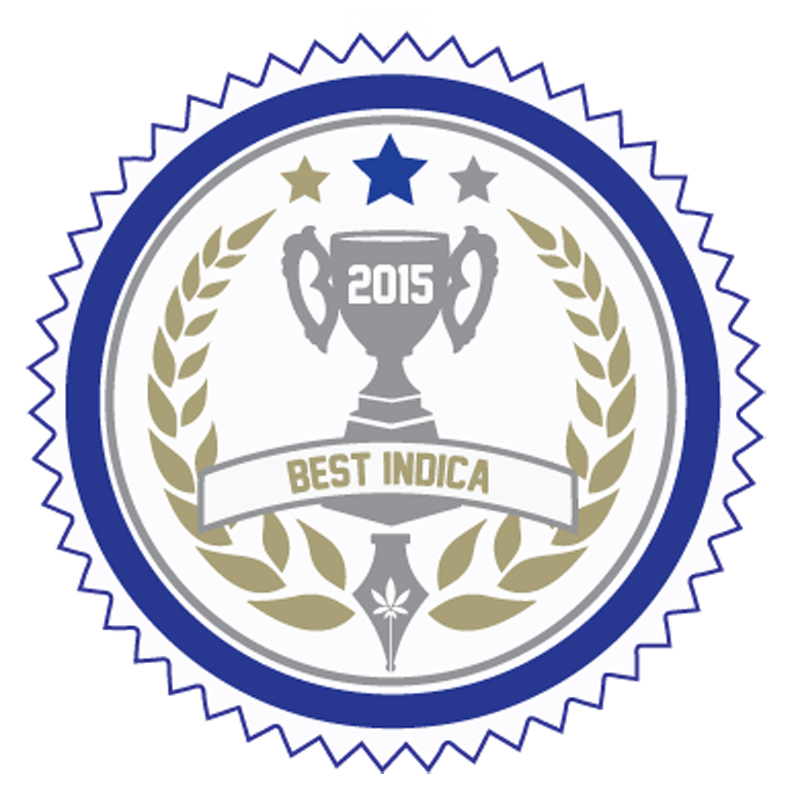 Sweet As Wins Best Indica 2015 Budtender Cup